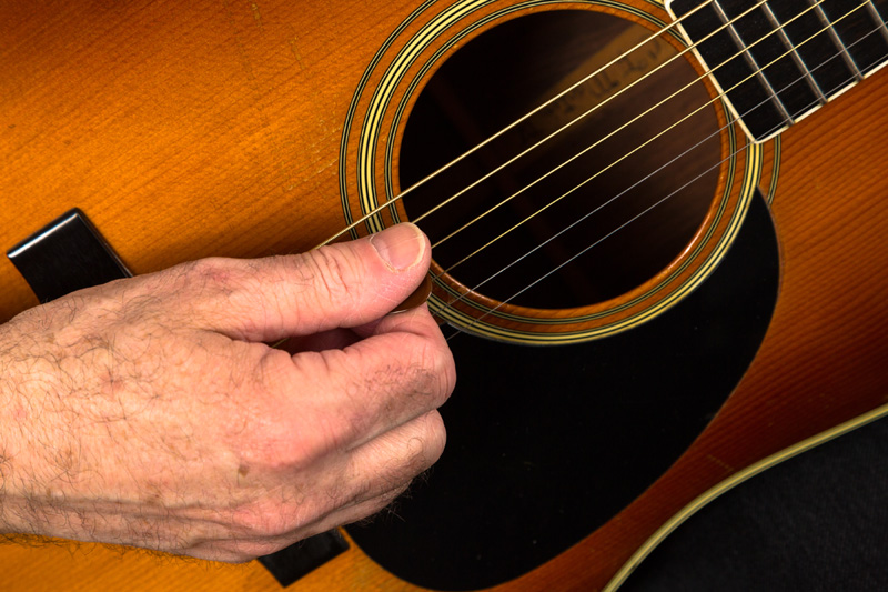 Flatpicking Up Close and Personal